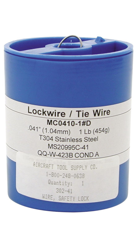 SAFETY LOCK WIRE (.041) from Aircraft Tool Supply