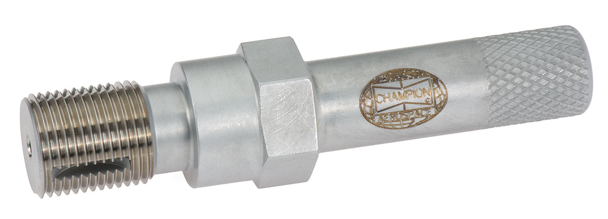 Champion Spark Plug Thread Cleaning Tool From Aircraft