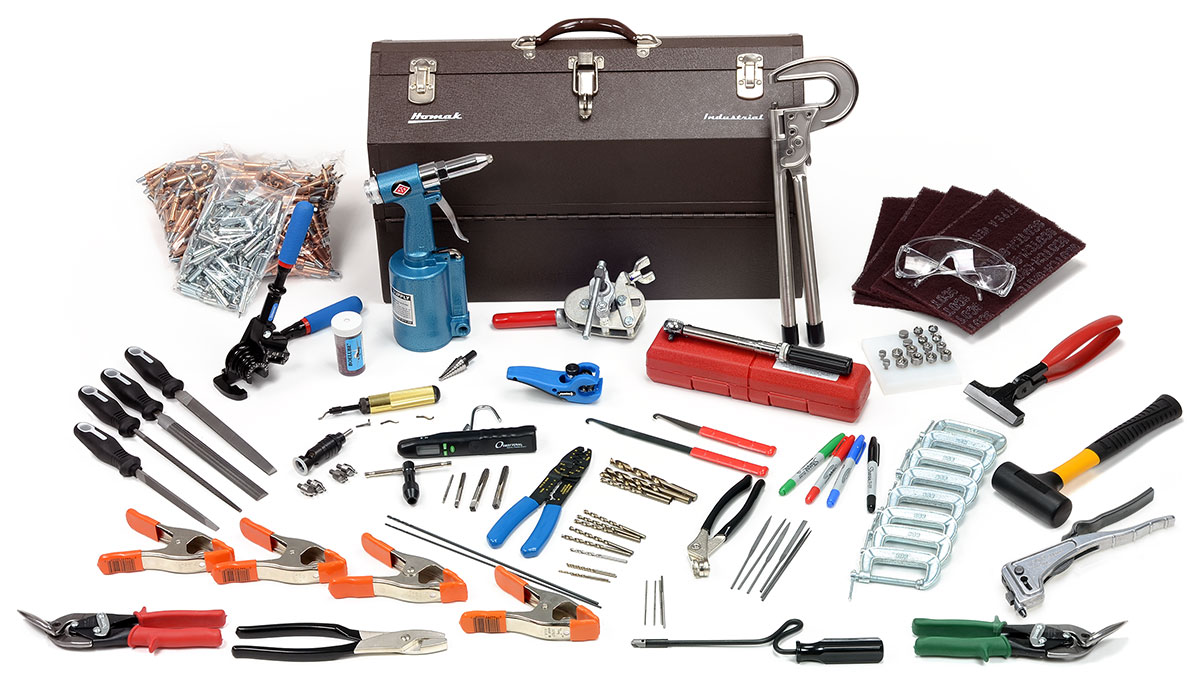 Rv Cleaning Tools : Van s rv quickbuild tool kit from aircraft supply