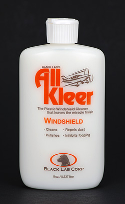 ALL KLEER WINDSHIELD CLEANER & POLISH (8Z) (AK8)
