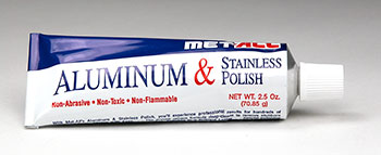 MET-ALL ALUMINUM & STAINLESS STEEL POLISH (2.5 OZ) (MA-BP2)