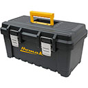 BLACK PLASTIC 19 TOOL BOX (BK00219001)